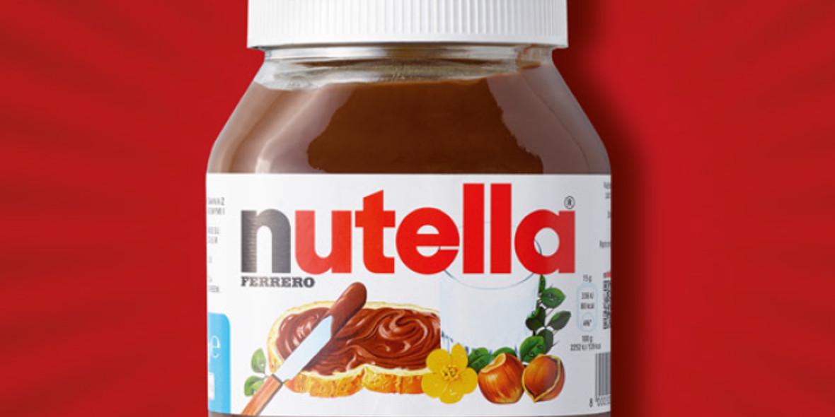 Biedronka: -26% na krem Nutella 12.04.2021