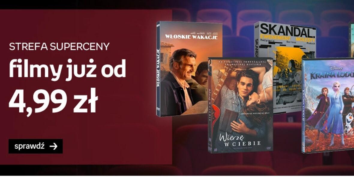 Empik: Od 4,99 zł za filmy na DVD 01.08.2021