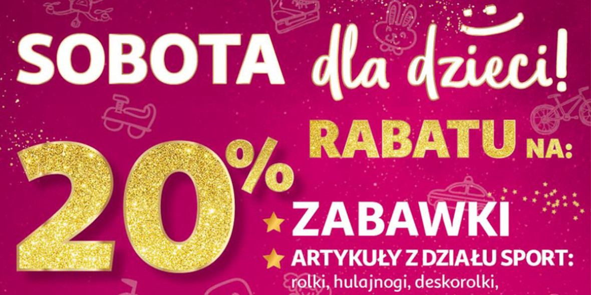 Auchan: -20% na artykuły dla dzieci 28.11.2020