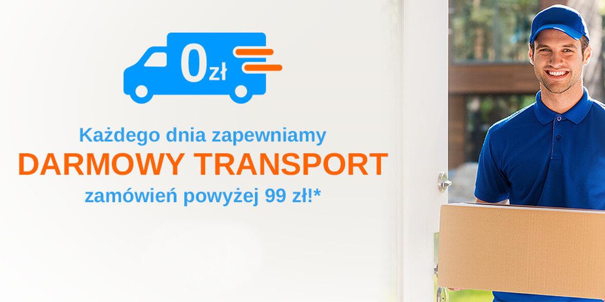 transport zamówień powyżej 99 zł