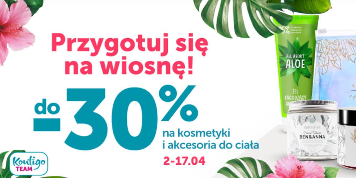 Kontigo: Do -30% na kosmetyki i akcesoria do ciała