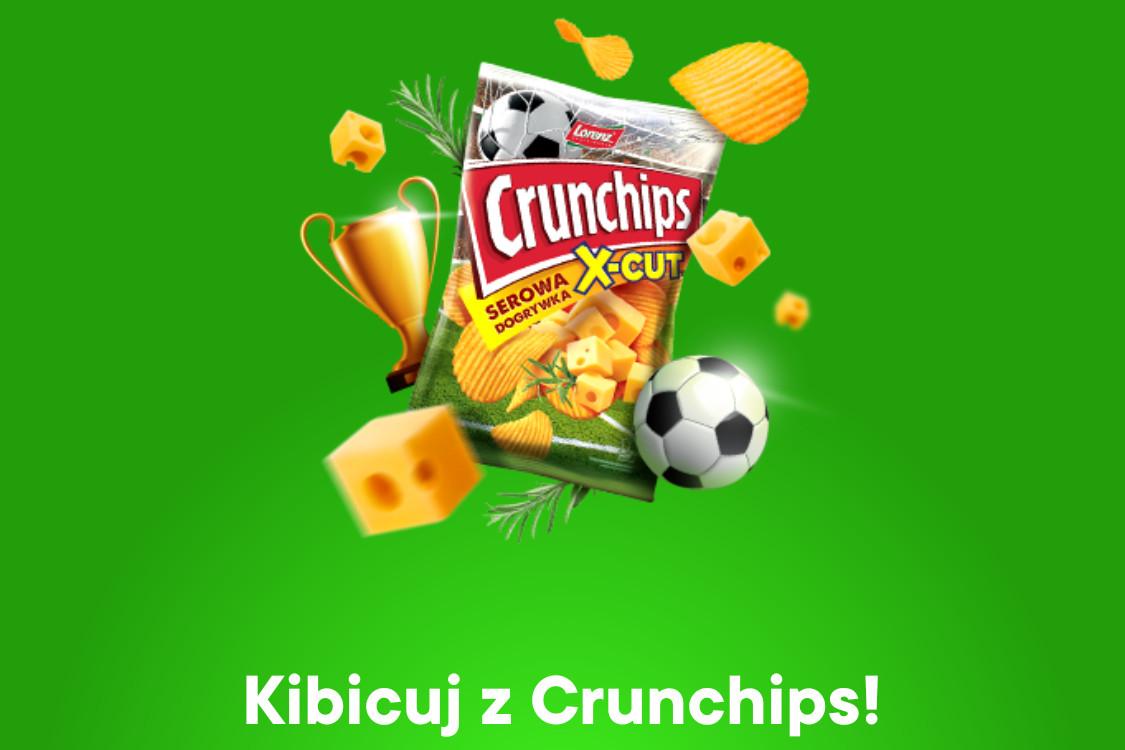 Żabka: 1 żapps za paczkę chipsów Crunchips