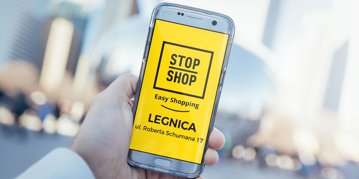STOP SHOP Legnica: Zapraszamy do STOP SHOP Legnica 19.04.2019