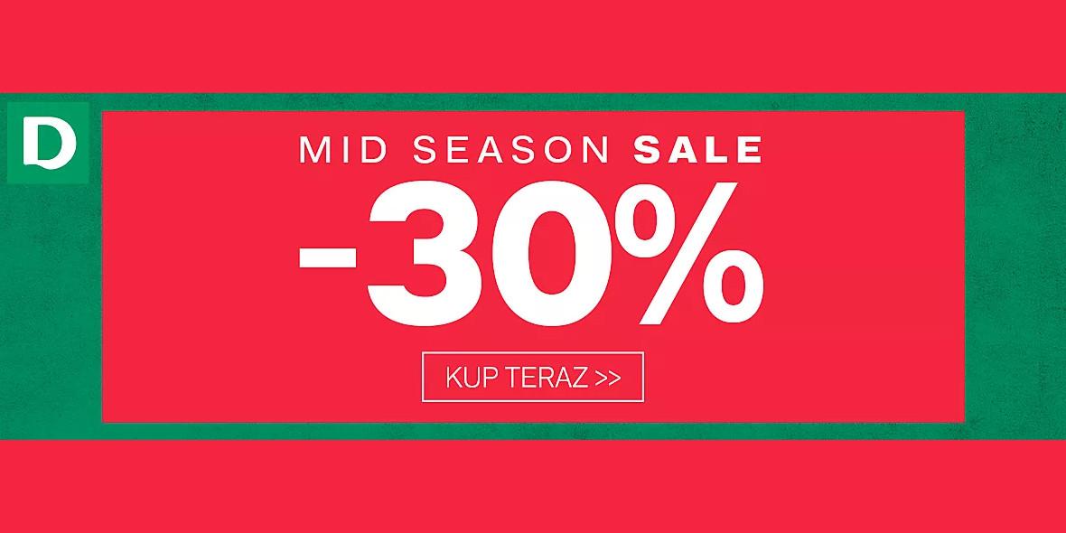 Deichmann: -30% na  Mid Season Sale