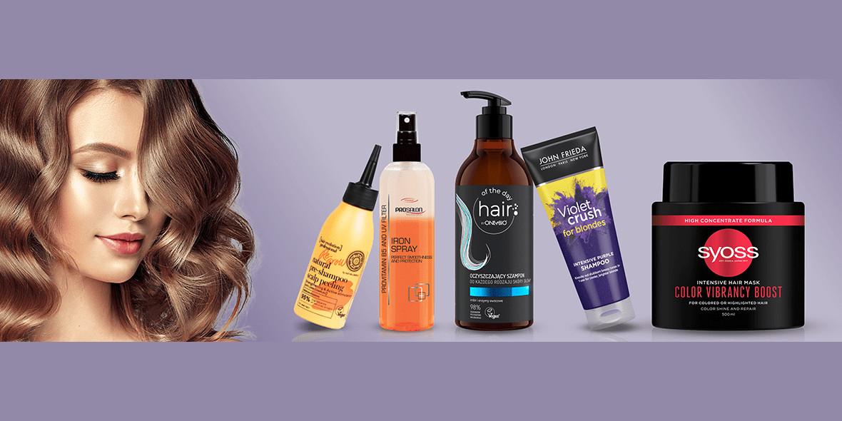 hebe: Do -40% na produkty do włosów 21.10.2021