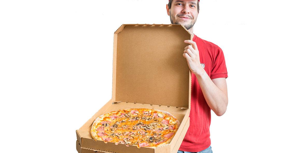 29,50 zł za pizze extra grande