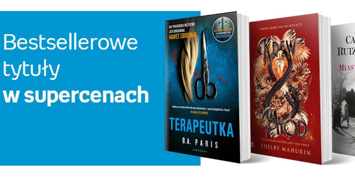 Empik: Do -40% na bestsellery 15.04.2021