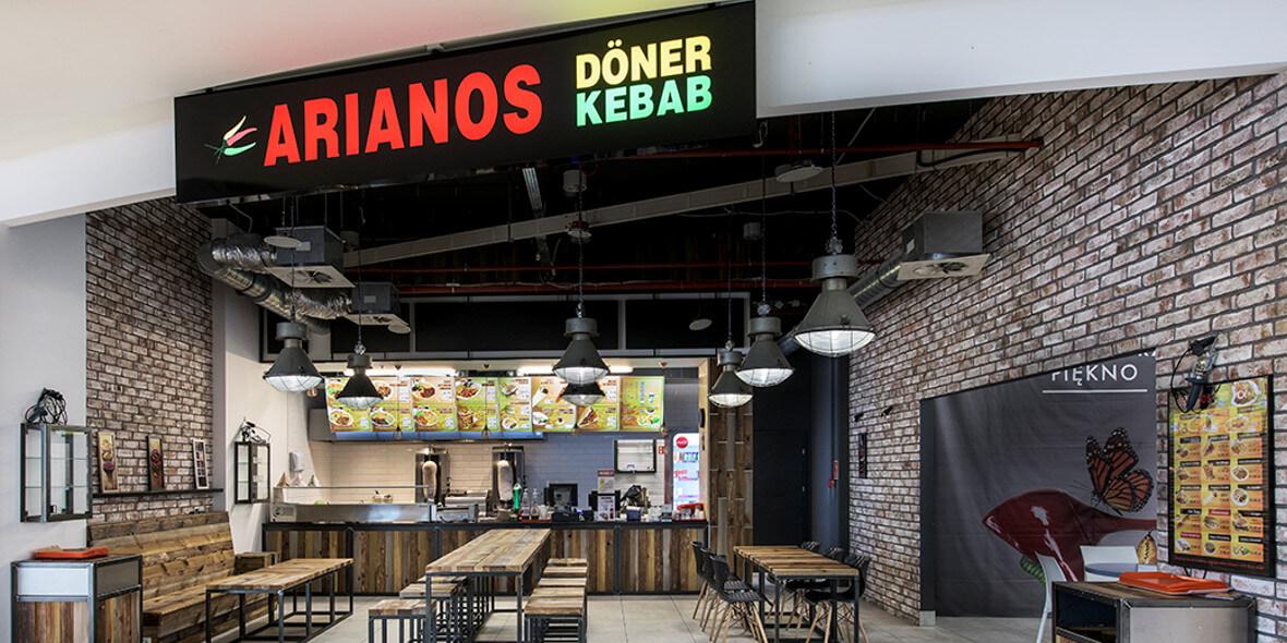 Arianos Doner Kebab : 2 zł za piwo do każdego dania