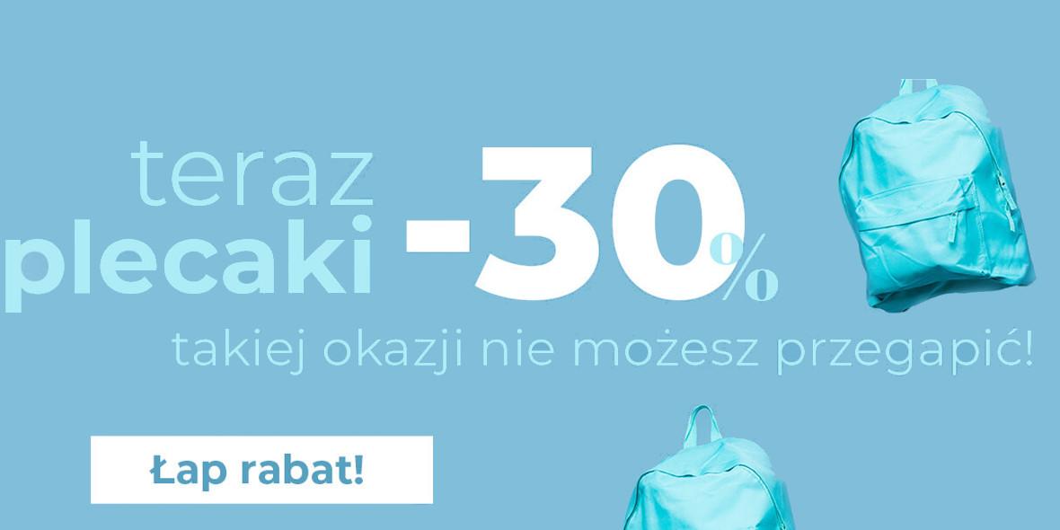 TXM textilmarket:  -30% na plecaki 04.08.2021