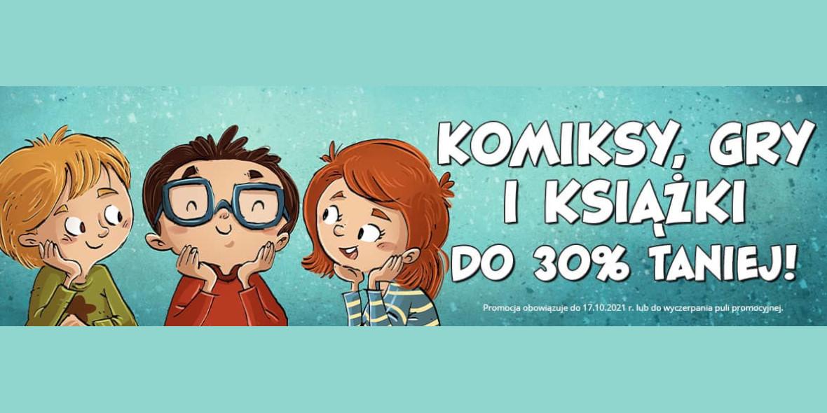 Egmont.pl: Do -30% na książki, komiksy, gry 11.10.2021
