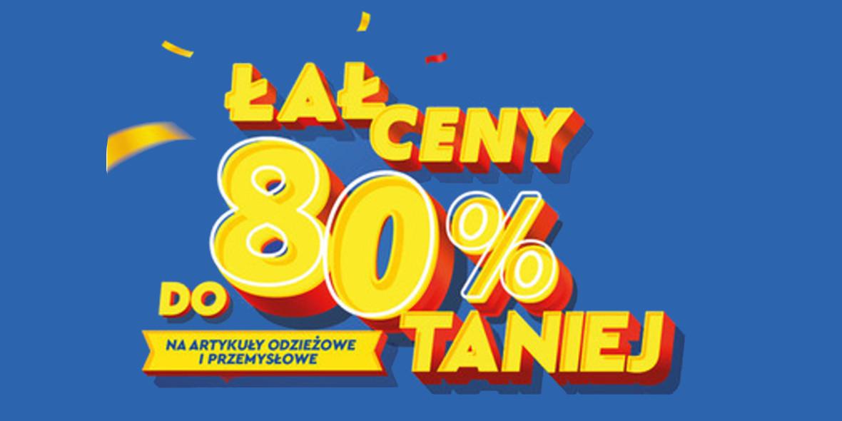 Lidl:  Do -80% na artykuły odzieżowe i przemysłowe 23.07.2021