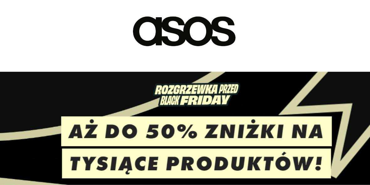 Asos.com: Do -50% na tysiące produktów w Asos.com 23.11.2020