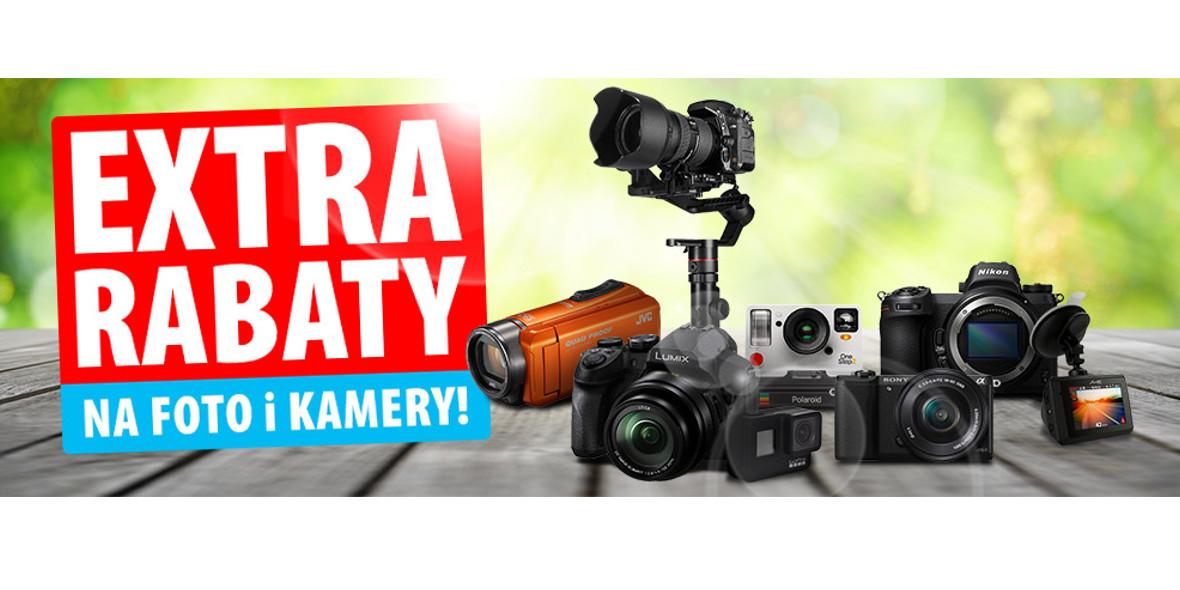 Extra rabaty na foto i kamery!