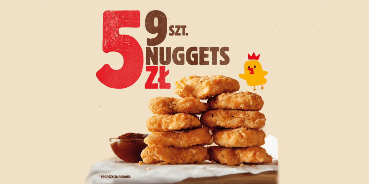 za 9 nuggetsów