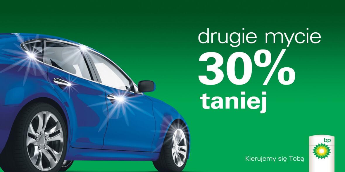 -30% na drugie mycie samochodu