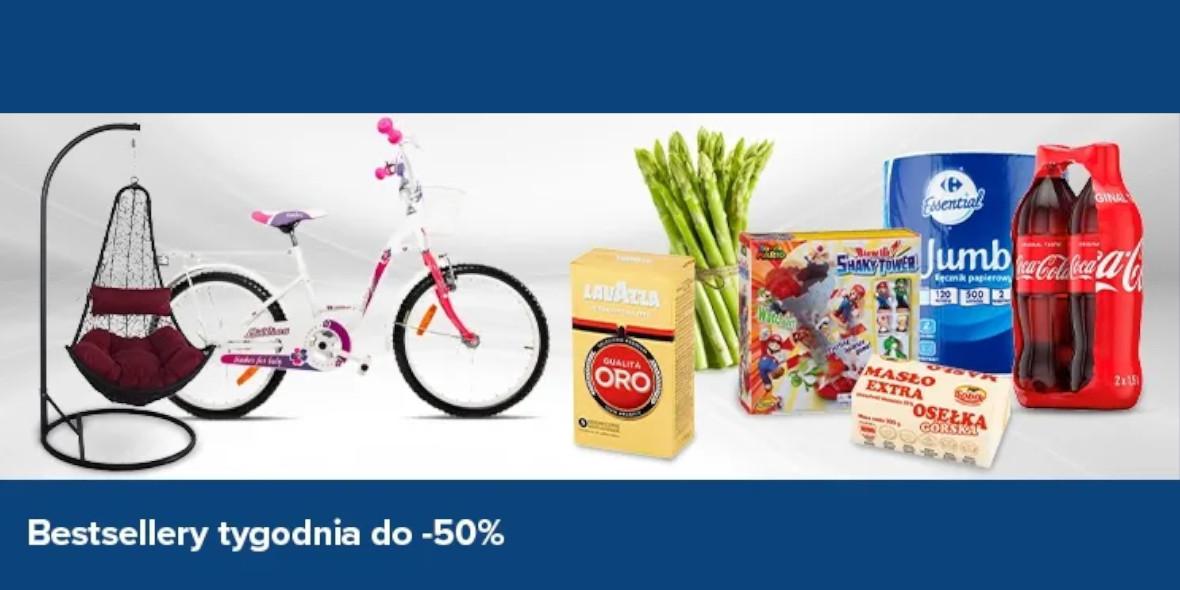 Carrefour: Do -50% na bestsellery tygodnia 17.07.2021