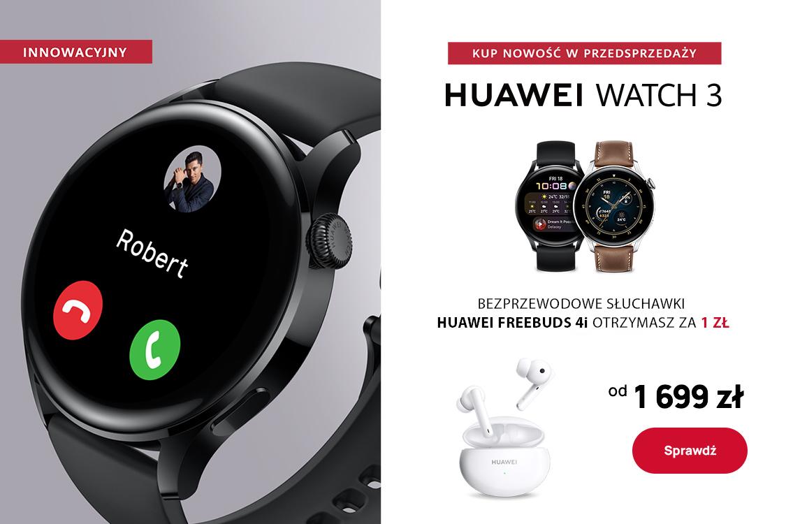Huawei: 1 zł za słuchawki przy zakupie smartwatch'a