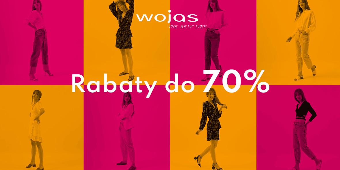 Wojas:  Do -70% na wyprzedaży w Wojas 04.08.2021