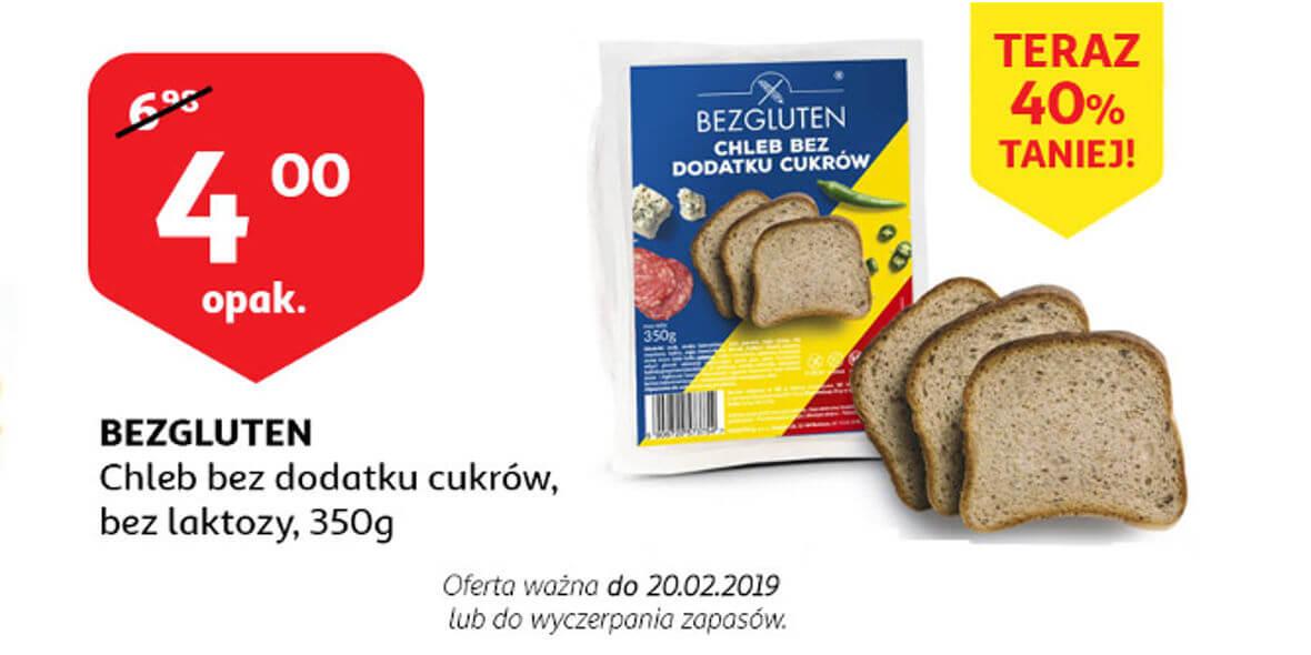 na chleb bez dodatku cukrów i bez laktozy
