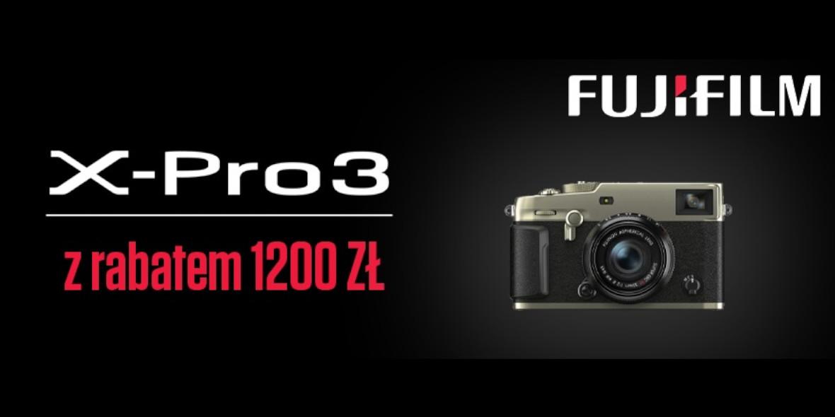 FotoForma: -1200 zł na aparat Fujifilm 17.09.2021