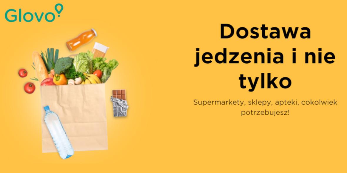 Glovo: Kod na darmową dostawę