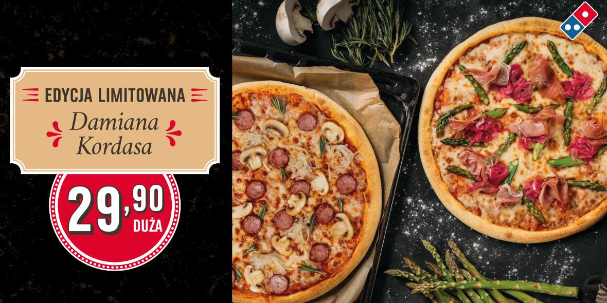 za duże pizze z edycji limitowanej