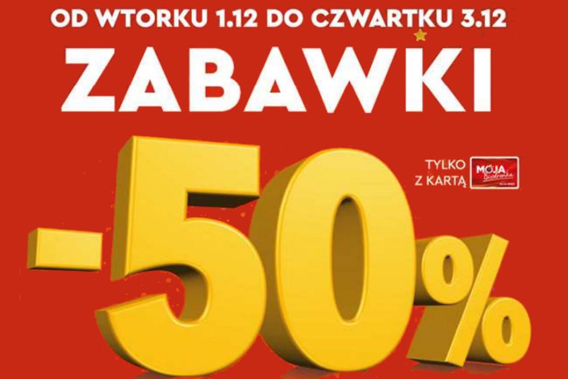 Biedronka: -50% -50% na zabawki 01.12.2020