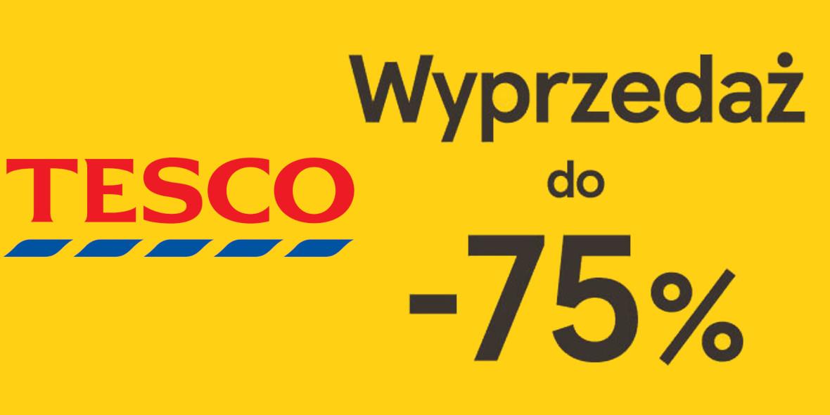 Tesco: Do -75% na wyprzedaży w Tesco 14.01.2021