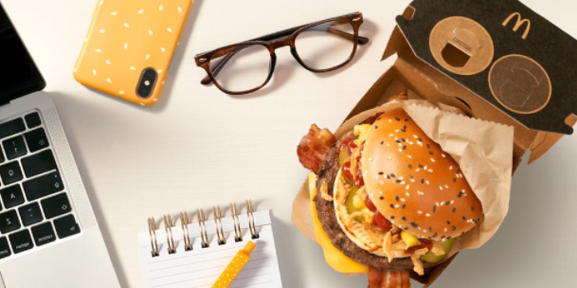 McDonald's:  Kod: -10 zł na zamówienie z McDonald's® 27.09.2021