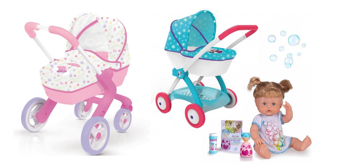 za najlepsze wózki dla lalek + akcesoria