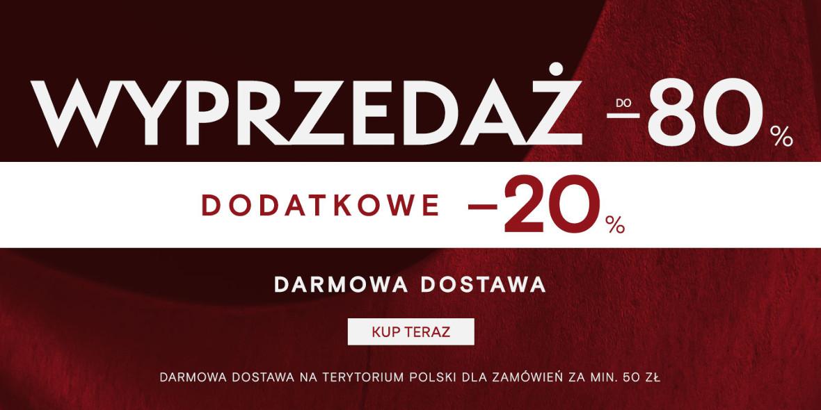 Pako Lorente: Kod: -20% dodatkowo na wyprzedaż 26.01.2021