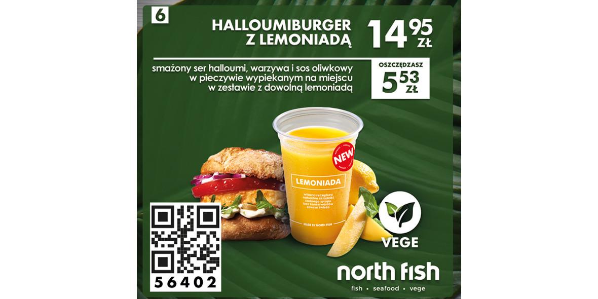 za Halloumiburger z lemoniadą