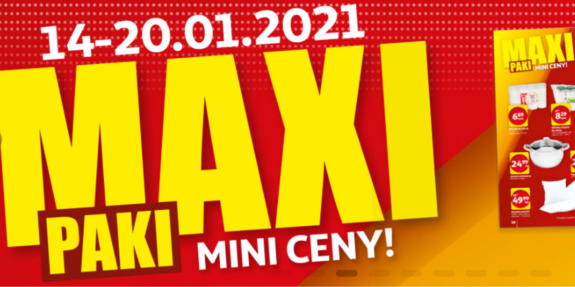 Auchan:  MAXI PAKI MINI CENY 14.01.2021