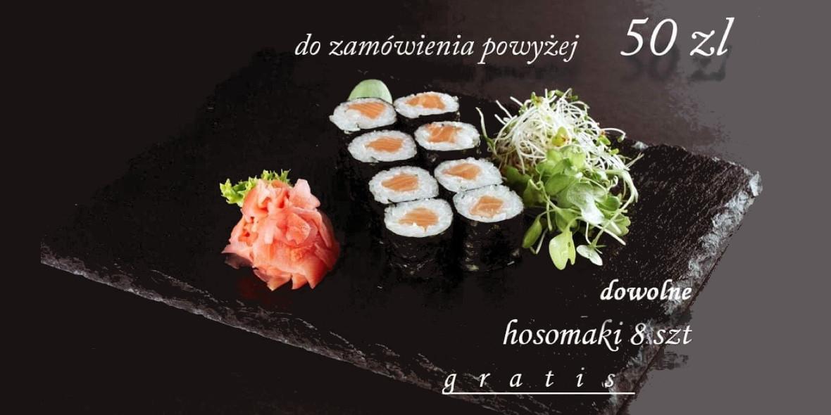 Fuji Sushi: Gratis do zamówień powyżej 50 zł 22.10.2020