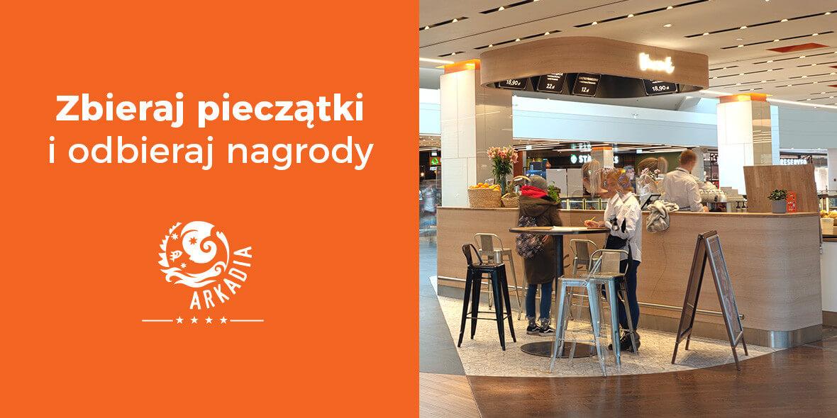 Karta Pieczątkowa Arkadia Restauracje