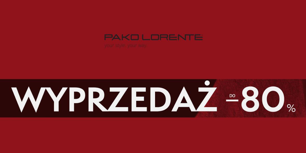 Pako Lorente: Do -80% na wyprzedaży 26.01.2021