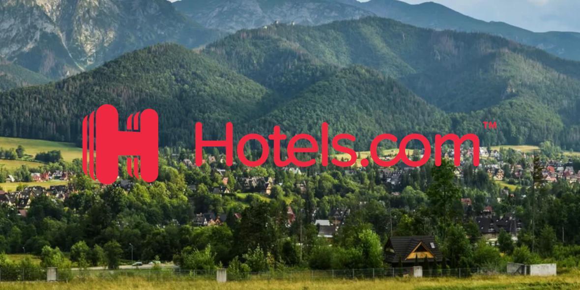 Hotels.com: Kod: -8% na pobyt