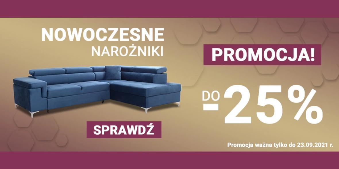 Meble-Bogart.pl: Do -25% na narożniki