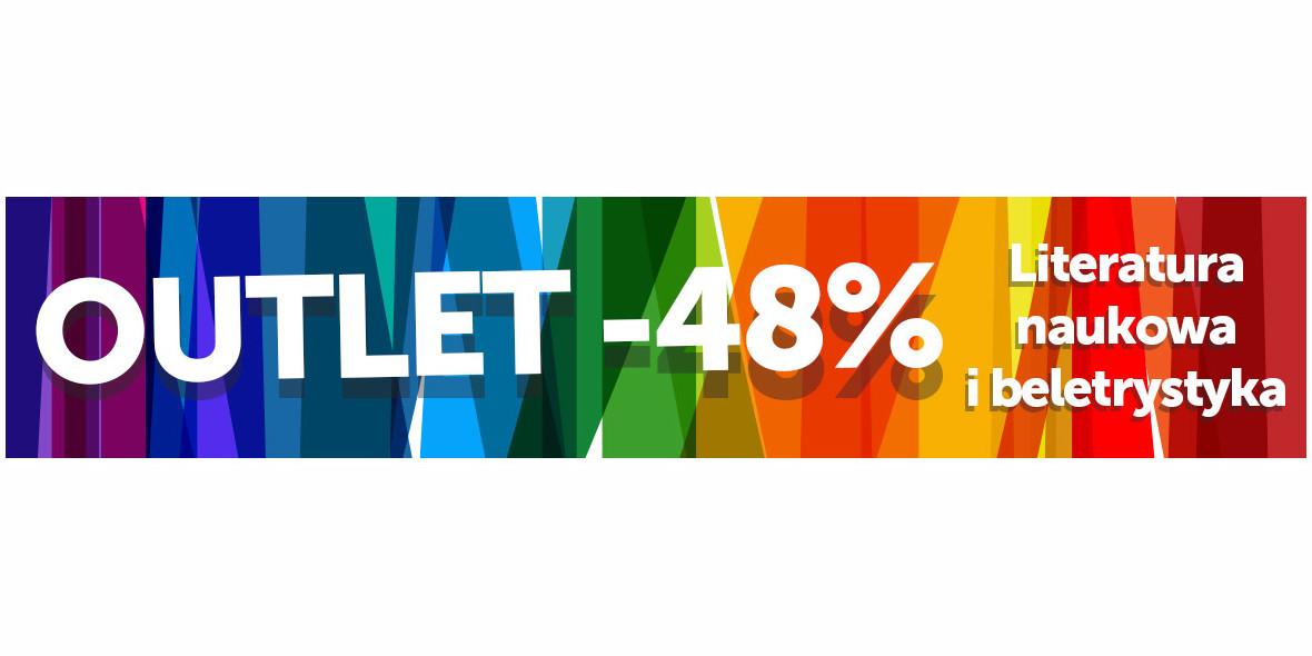 Księgarnia Internetowa PWN: -48% na książki z kategorii OUTLET 06.10.2021