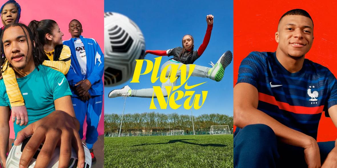 Nike: Nowa kolekcja piłkarska 21.06.2021