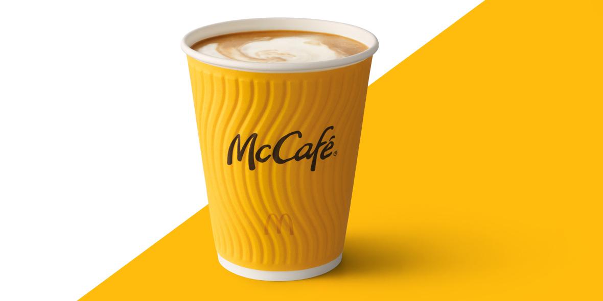 McDonald's: 5 zł za średnie Café Latte w  McDonald's