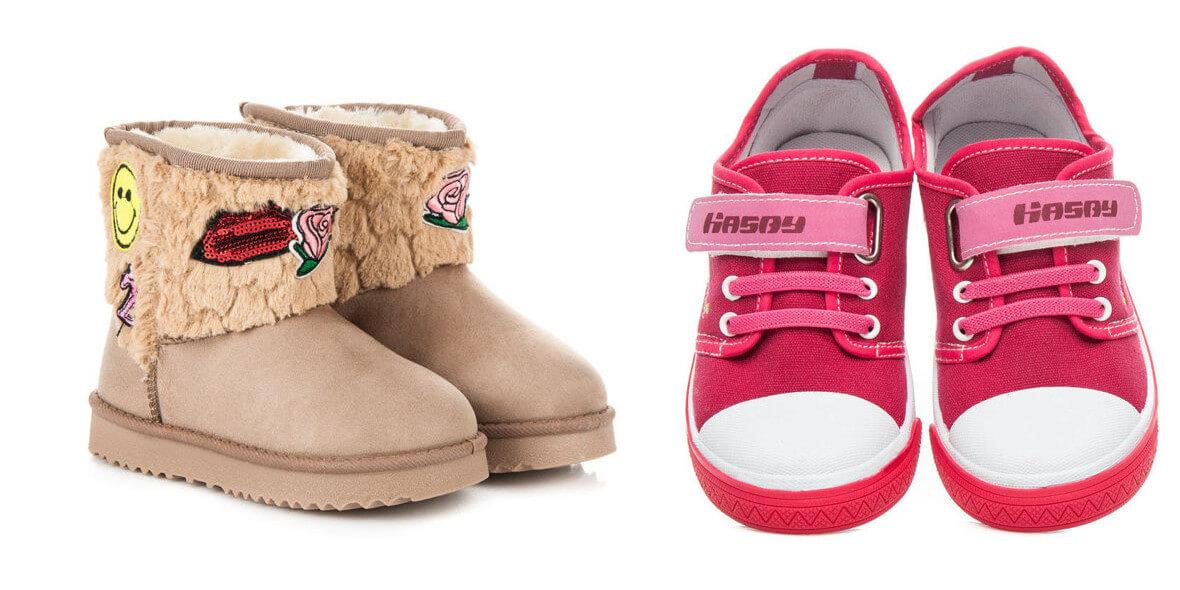 na buty dziecięce