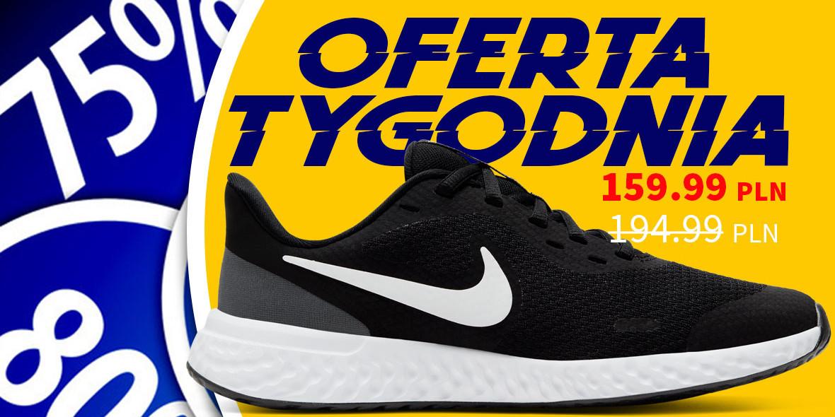 Sportowysklep: Do -20% na obuwie Nike i adidas 22.04.2021