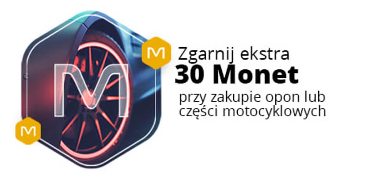 Allegro.pl: +30 Monet przy zakupie opon lub części motocyklowych 06.05.2021