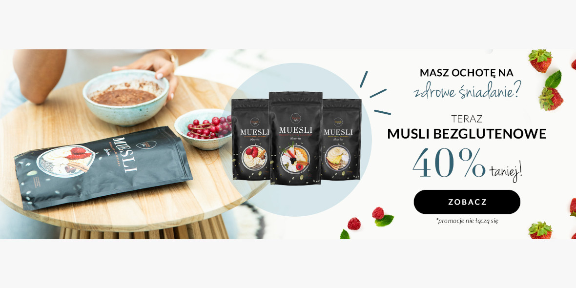Foods by Ann: -40% na musli bezglutenowe