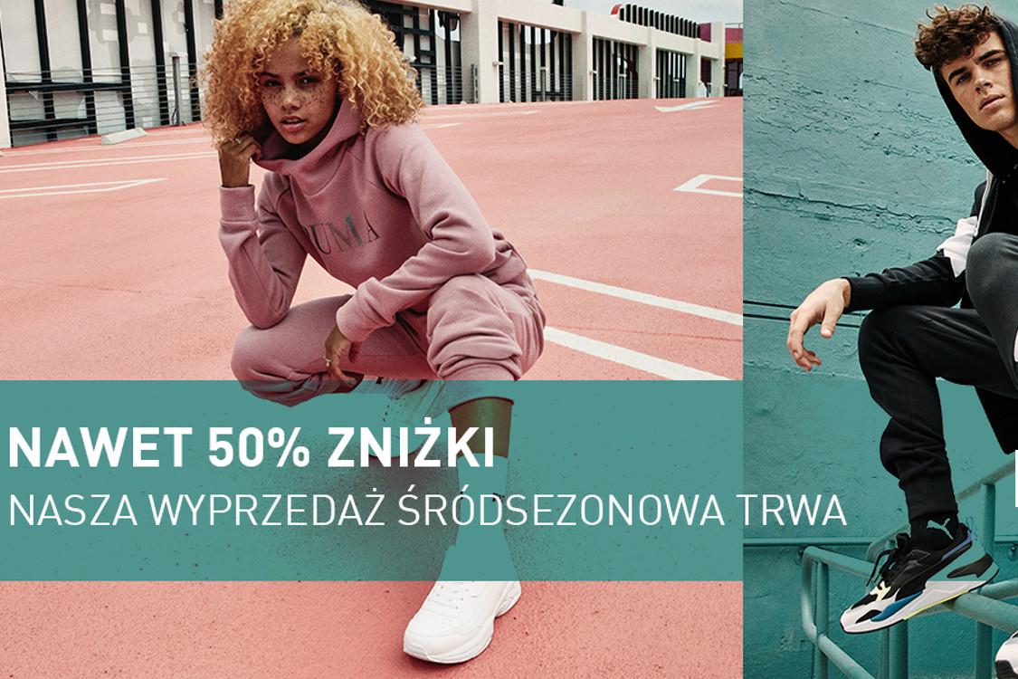 Puma: Do -50% Do -50% na Mid Season Sale 01.01.0001