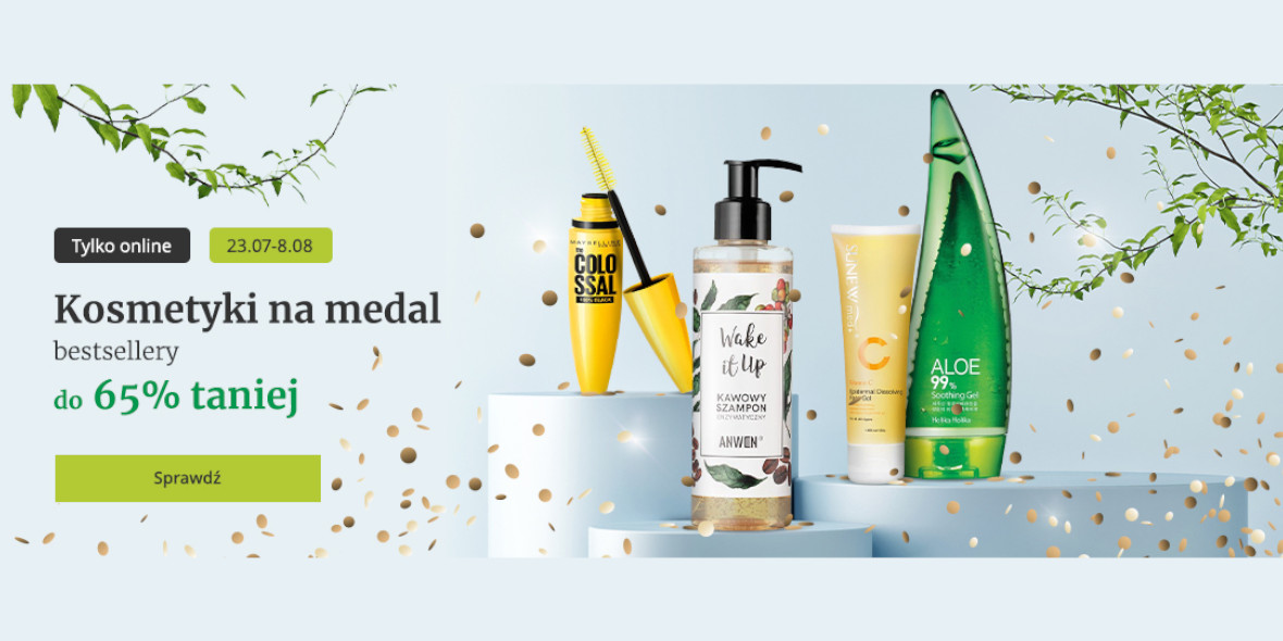 Drogerie Natura: Do -65% na bestsellery 23.07.2021