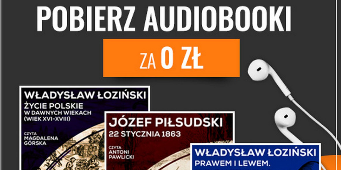 Publio: Za darmo audiobooki historyczne 31.10.2020