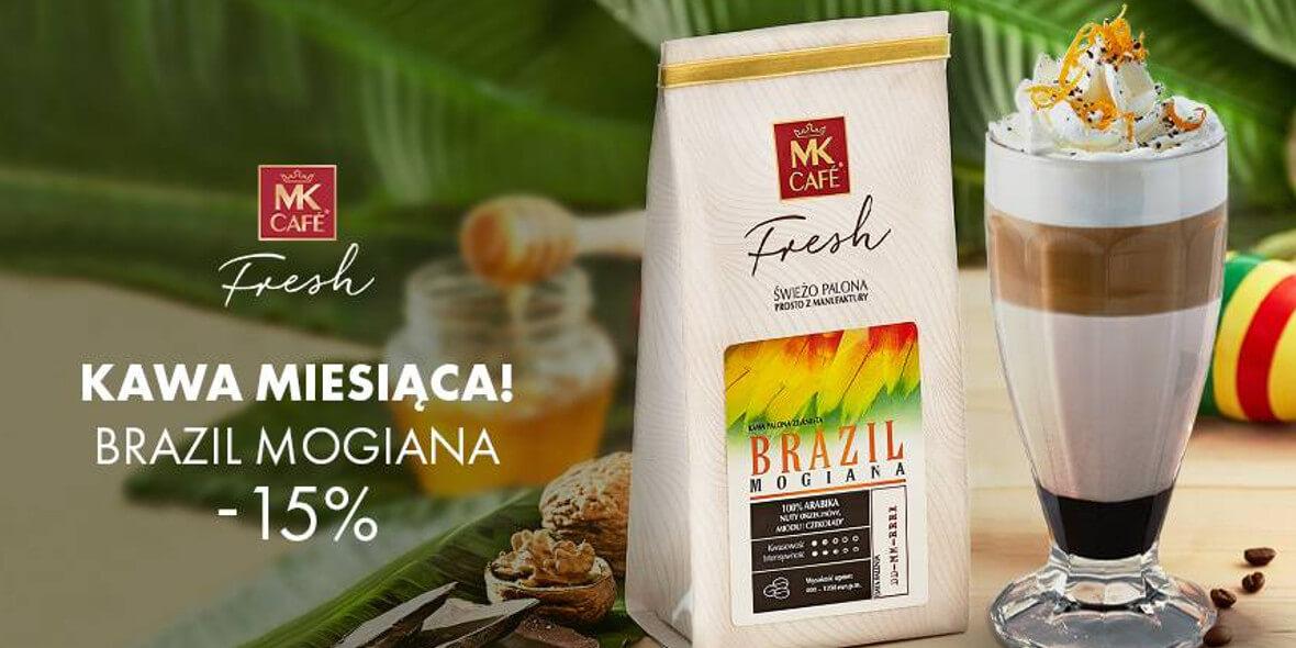 MK Cafe: -15% na kawę miesiąca Brazil Mogiana 01.03.2021