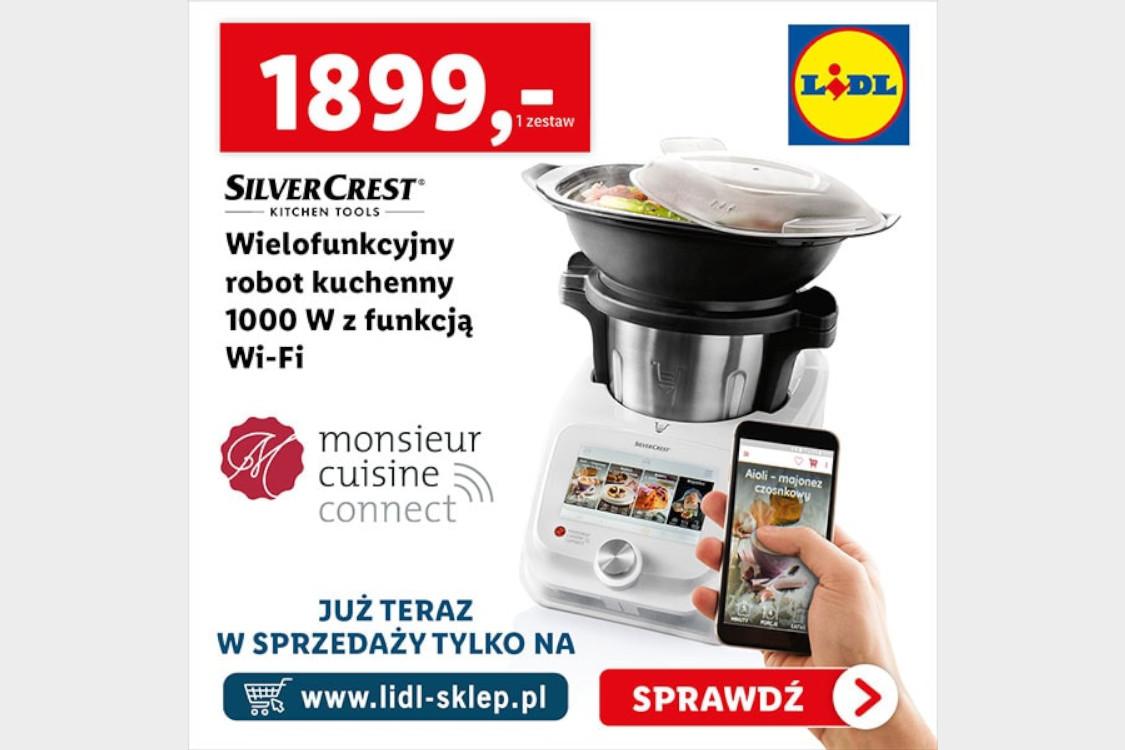 Zwrot 100 zł za zakup wielofunkcyjnego robota kuchennego